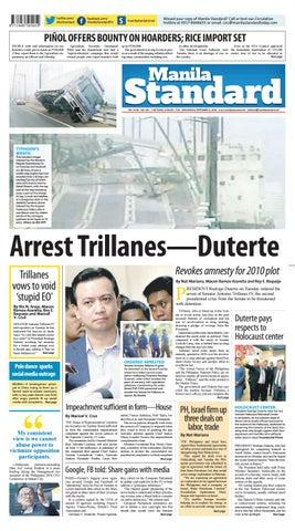 aab1267bce Manila Standard - 2018 September 5 - Wednesday by Manila Standard ...