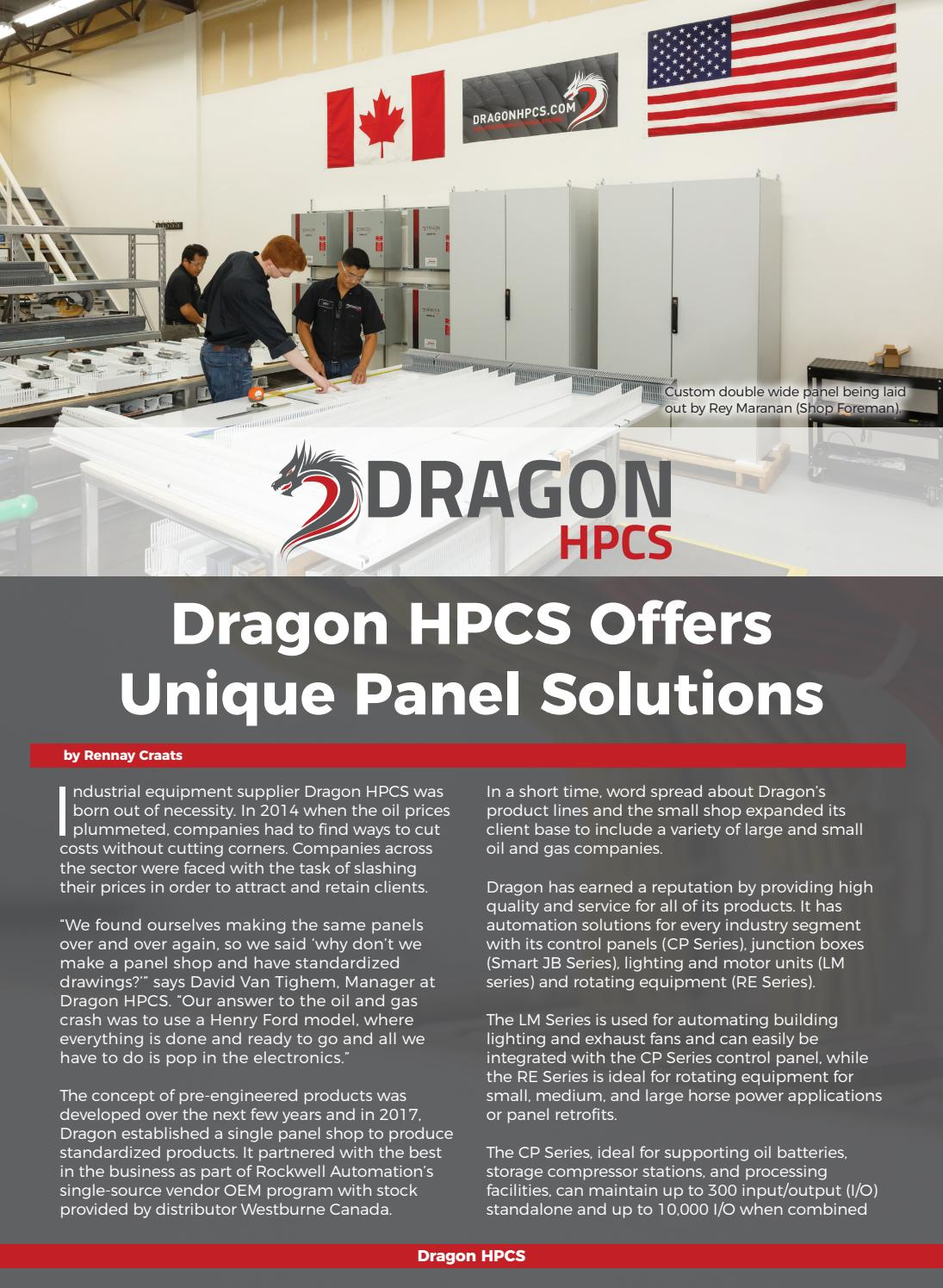 Dragon HPCS by Business in Calgary - issuu