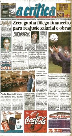 e86e5dda3 Jornal A Critica - Edição 980- 04 06 2000 by JORNAL A CRITICA - issuu
