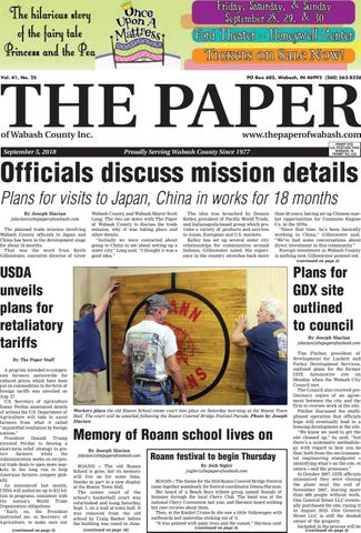 The Paper Of Wabash County Sept 5 2018 Issue By The Paper Of