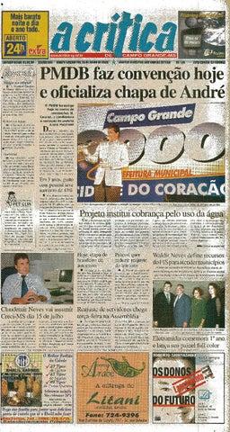 03b1b55f44 Jornal A Critica - Edição 983- 25 06 2000 by JORNAL A CRITICA - issuu