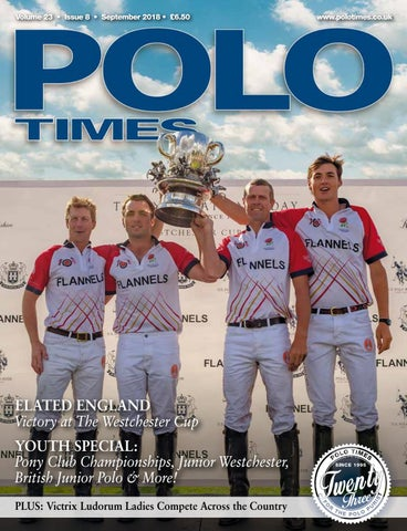 Polo Times September 2018 by Edit - issuu 47092e301c70