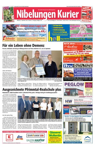 detailed pictures factory outlet separation shoes Mittwoch, 5. September 2018, 36. Woche by Nibelungen Kurier ...
