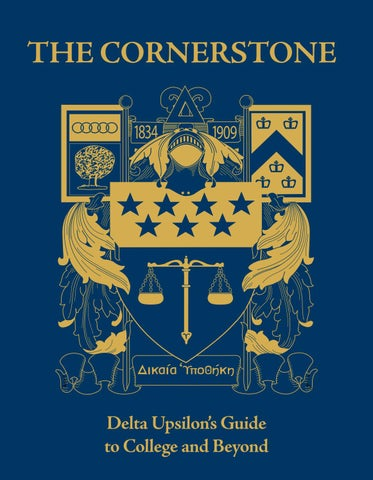 The Cornerstone by Delta Upsilon - issuu