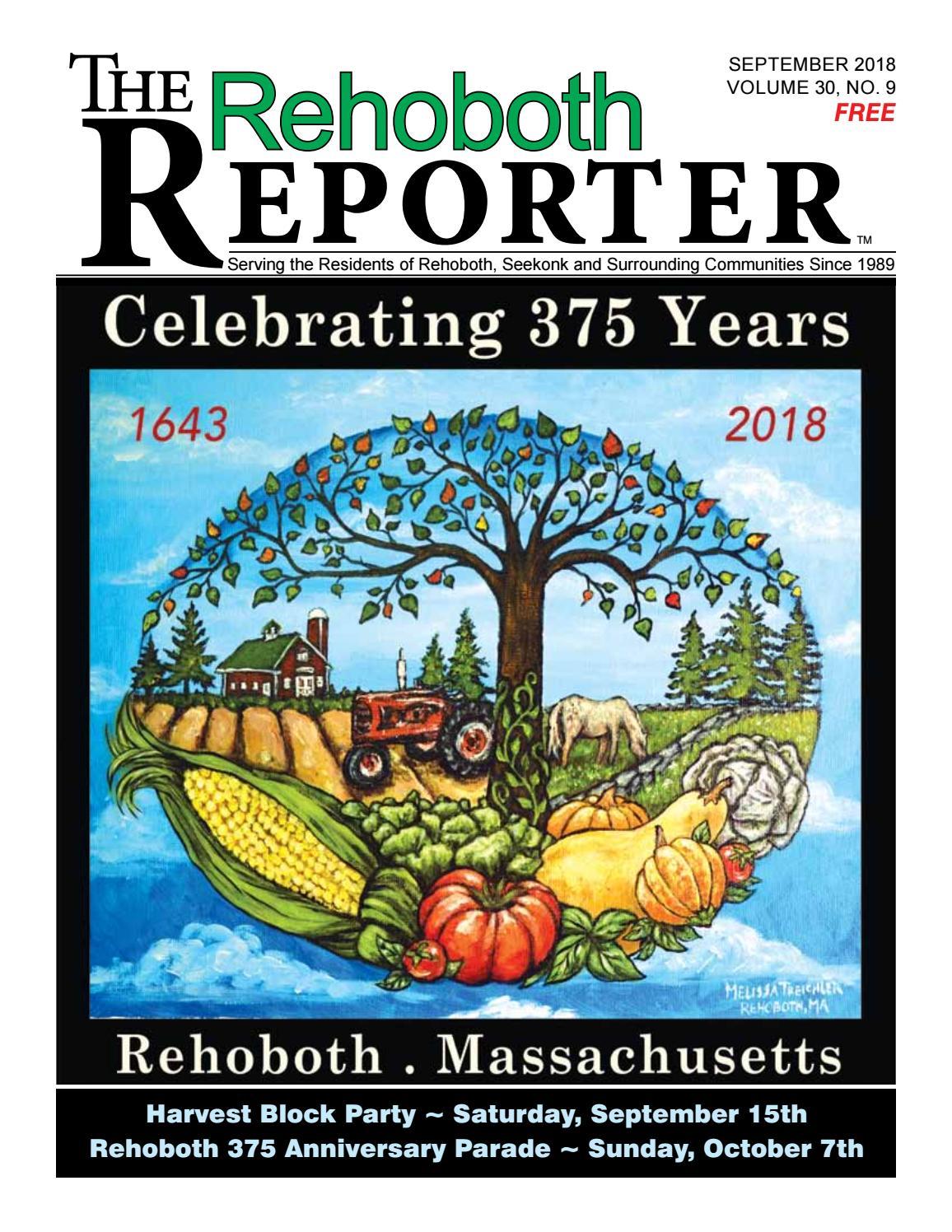 September 2018 Rehoboth Reporter