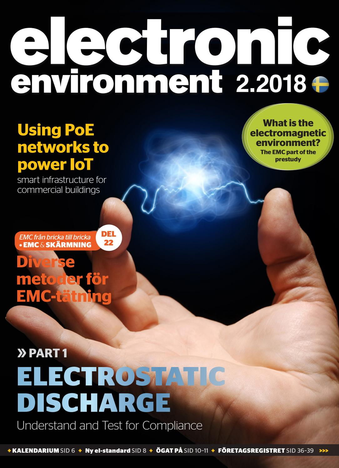 Electronic Environment 2018 02 By Break A Story Communication Ab Issuu Track Lighting Without Using Box Electrician Talk Professional