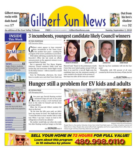 Gilbert Sun News September 2, 2018 by Times Media Group - issuu on