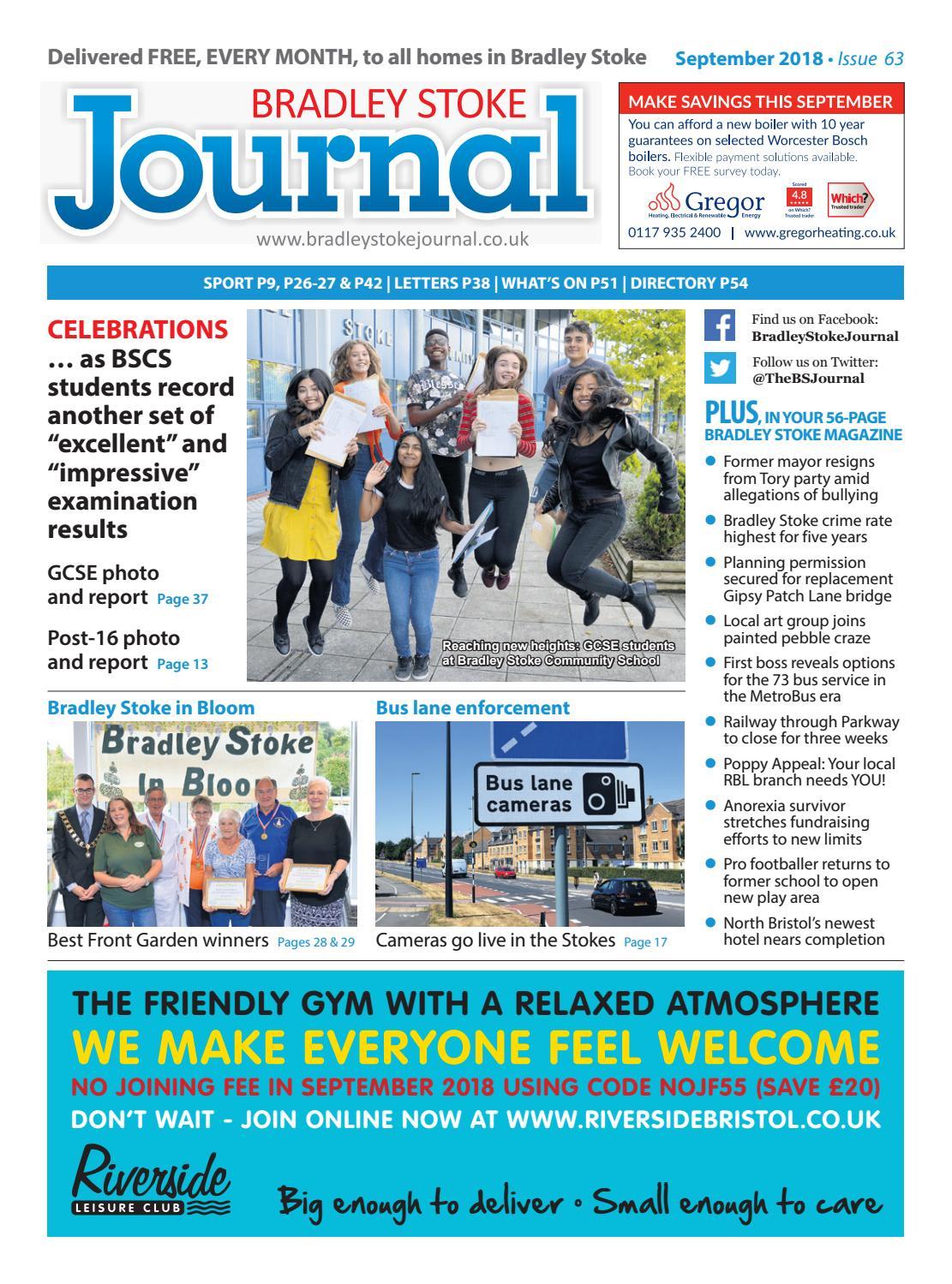 Bradley Stoke Journal, September 2018 by Bradley Stoke Journal - issuu