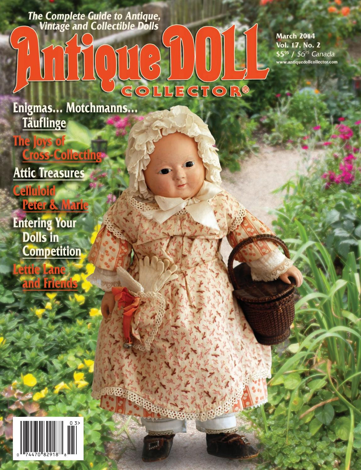 Poupées Knitting Patterns by Val Young 13-14Ins Nº 281