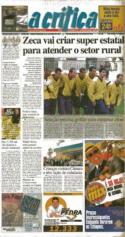 4dc89dc417 Jornal A Critica - Edição 993- 03 09 2000 by JORNAL A CRITICA - issuu