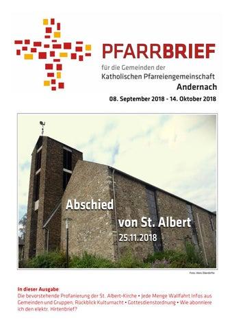 Pfarrbrief Andernach September Oktober 2018 By Kath