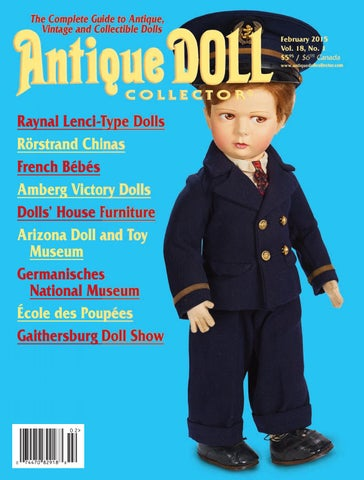 3c2abf62d5a9a February 2015 by Antique Doll Collector Magazine - issuu