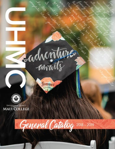 UH Maui College General Catalog 2018 - 2019 by UHMC - issuu