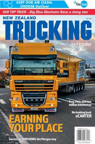 New Zealand Trucking July 2018 By Nztrucking Issuu