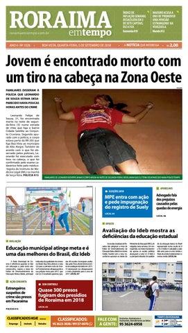 Jornal Roraima em tempo – edição 1026 by RoraimaEmTempo - issuu e7260dee517d8
