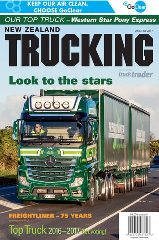 New Zealand Trucking August 2017 By NZTrucking Issuu