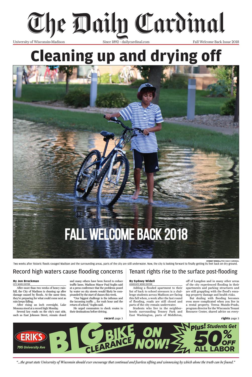 Quick Someone Give Paul Soglin Bag Of >> Fall Welcome Back Issue 2018 By The Daily Cardinal Issuu