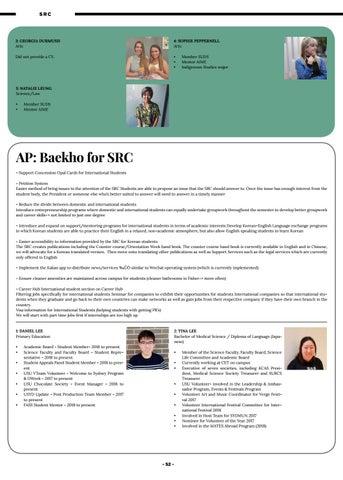 Election Honi Week 6 Semester 2 2018 By SRC Sydney Uni