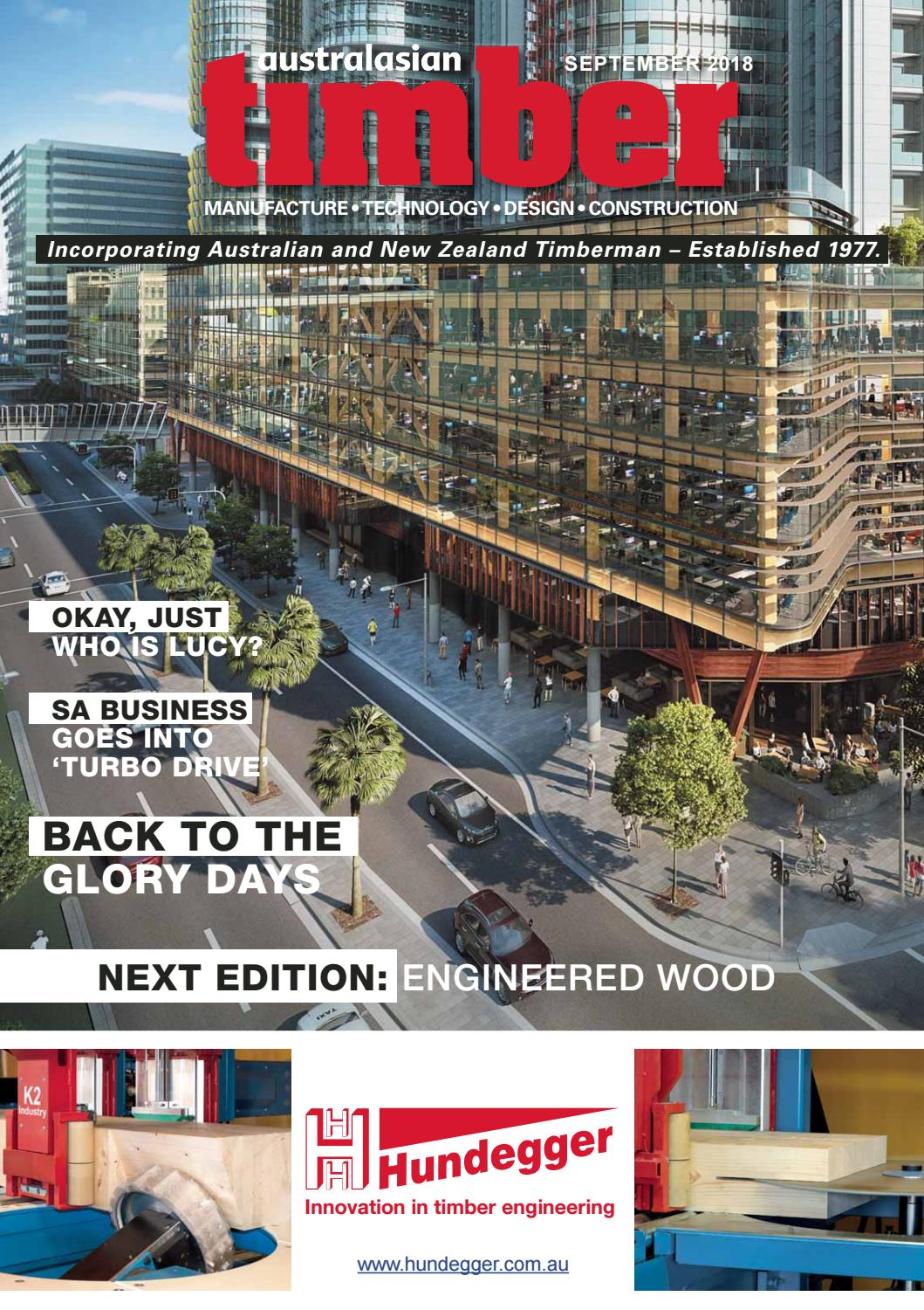 Australasian Timber Magazine - September 2018 by provincial