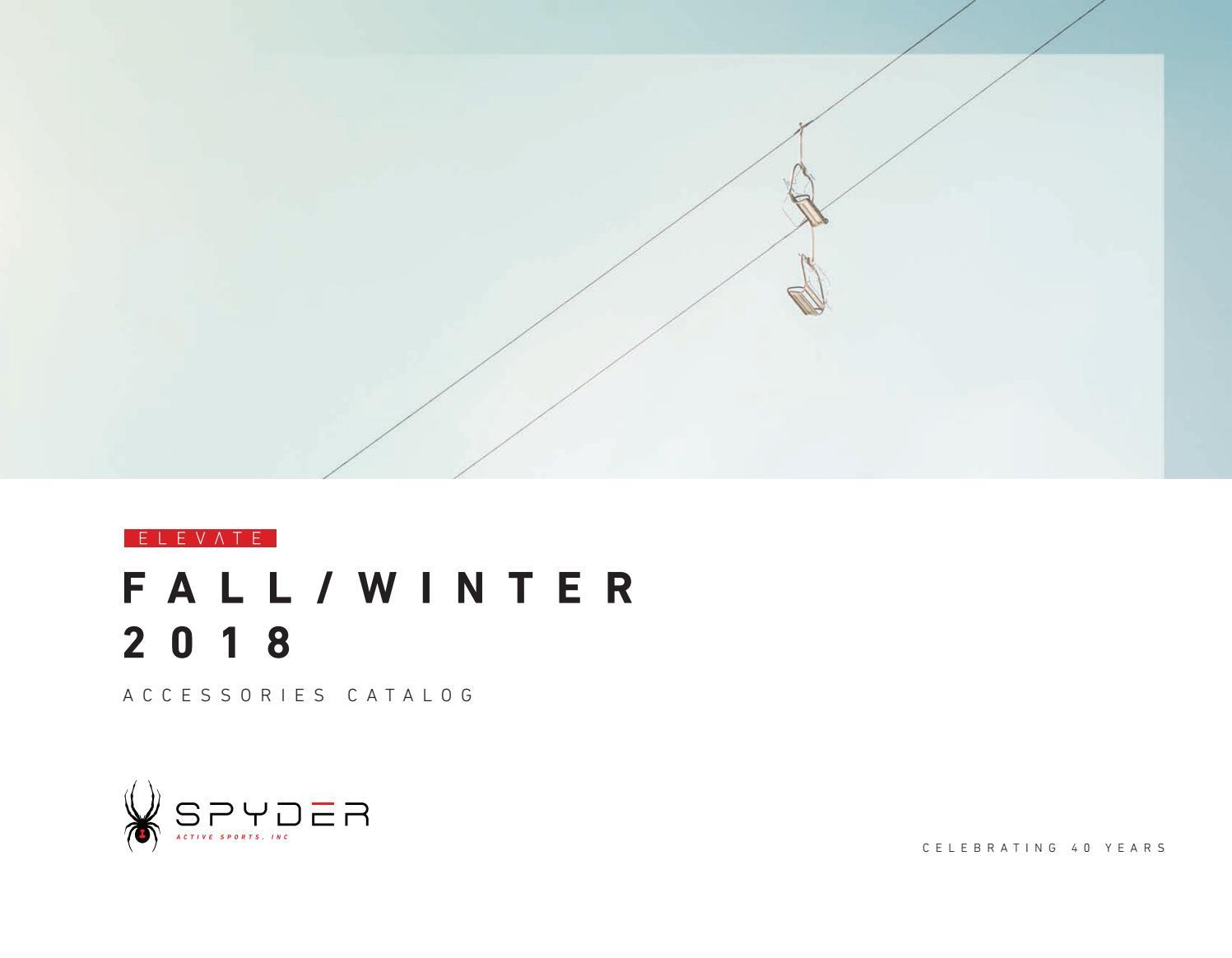 052cc8e7f64ea4 SPYDER FW18 ACCESSORIES by zuzupopo.snow - issuu