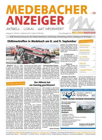best sale 2018 sneakers biggest discount Medebacher Anzeiger Ausgabe vom 05.09.208 Nr. 35 by Brilon ...
