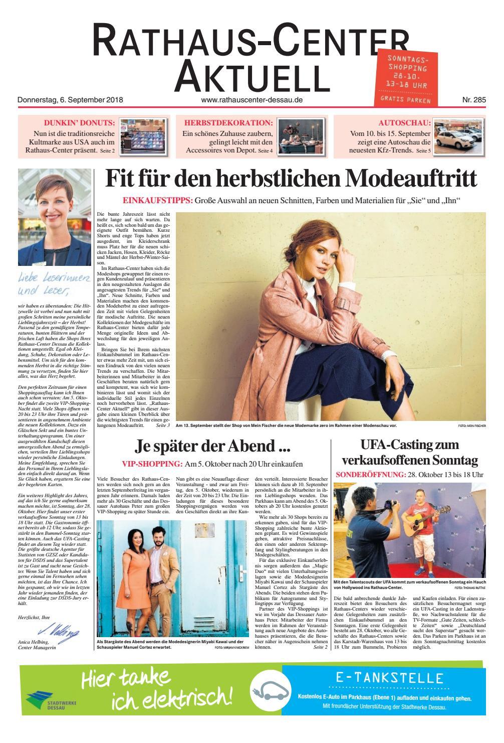 Rathauscenter Aktuell_September By Mediengruppe Mitteldeutsche Zeitung GmbH  U0026 Co. KG   Issuu