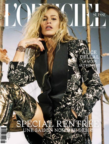 L OFFICIEL No. 39 Septembre 2018 FR by L Officiel Schweiz Suisse - issuu 9c87eba6d1f