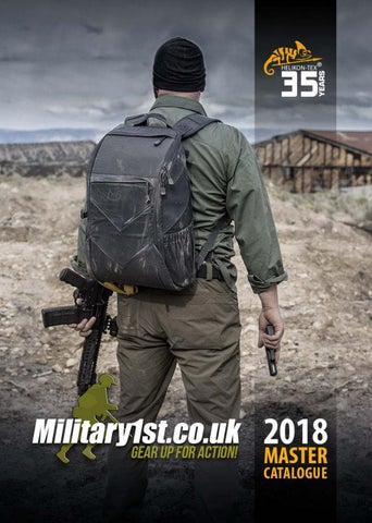 Military 1st Helikon-Tex 2018 Catalogue by Airsoft Action Magazine ... ef71bdbf15ff