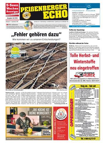 3a6ffb394e2db1 KW 36-2018 by Wochenanzeiger Medien GmbH - issuu