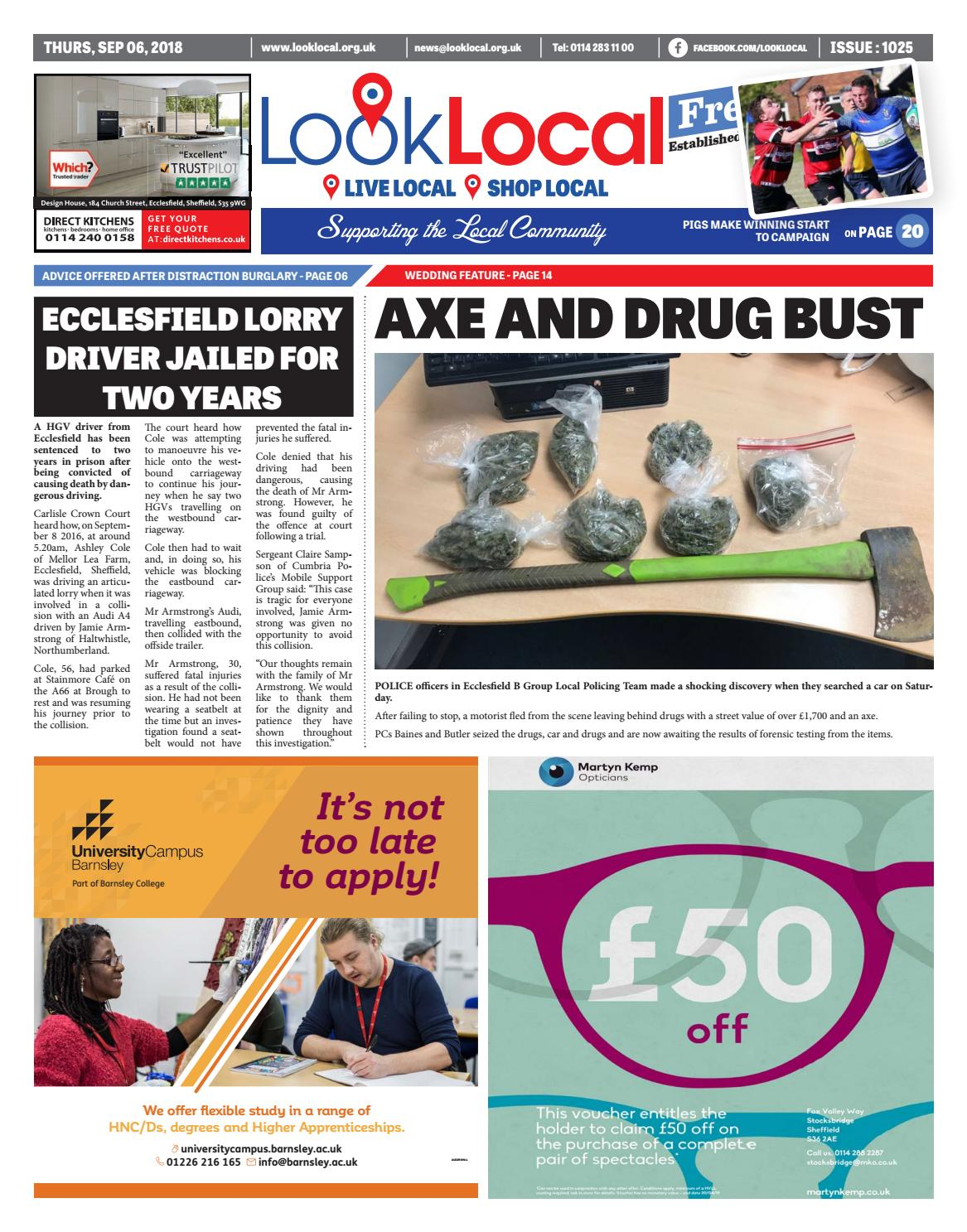 Issue 1025 Thursday 6 September 2018 By Look Local Newspaper Issuu Howreplaceblownfuse6427