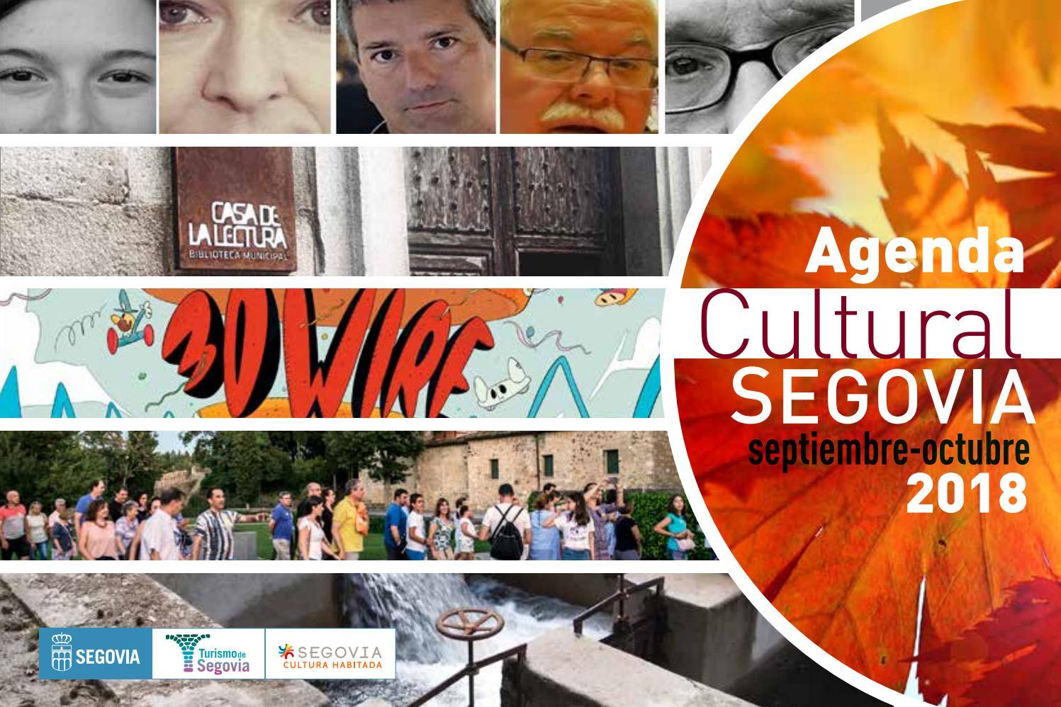 Agenda cultural de Segovia. Septiembre-octubre de 2018 by Segovia ...