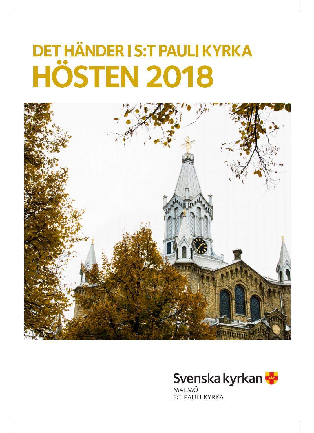 Kyrkoblad S:t Pauli kyrka hsten 2019 by Svenska kyrkan