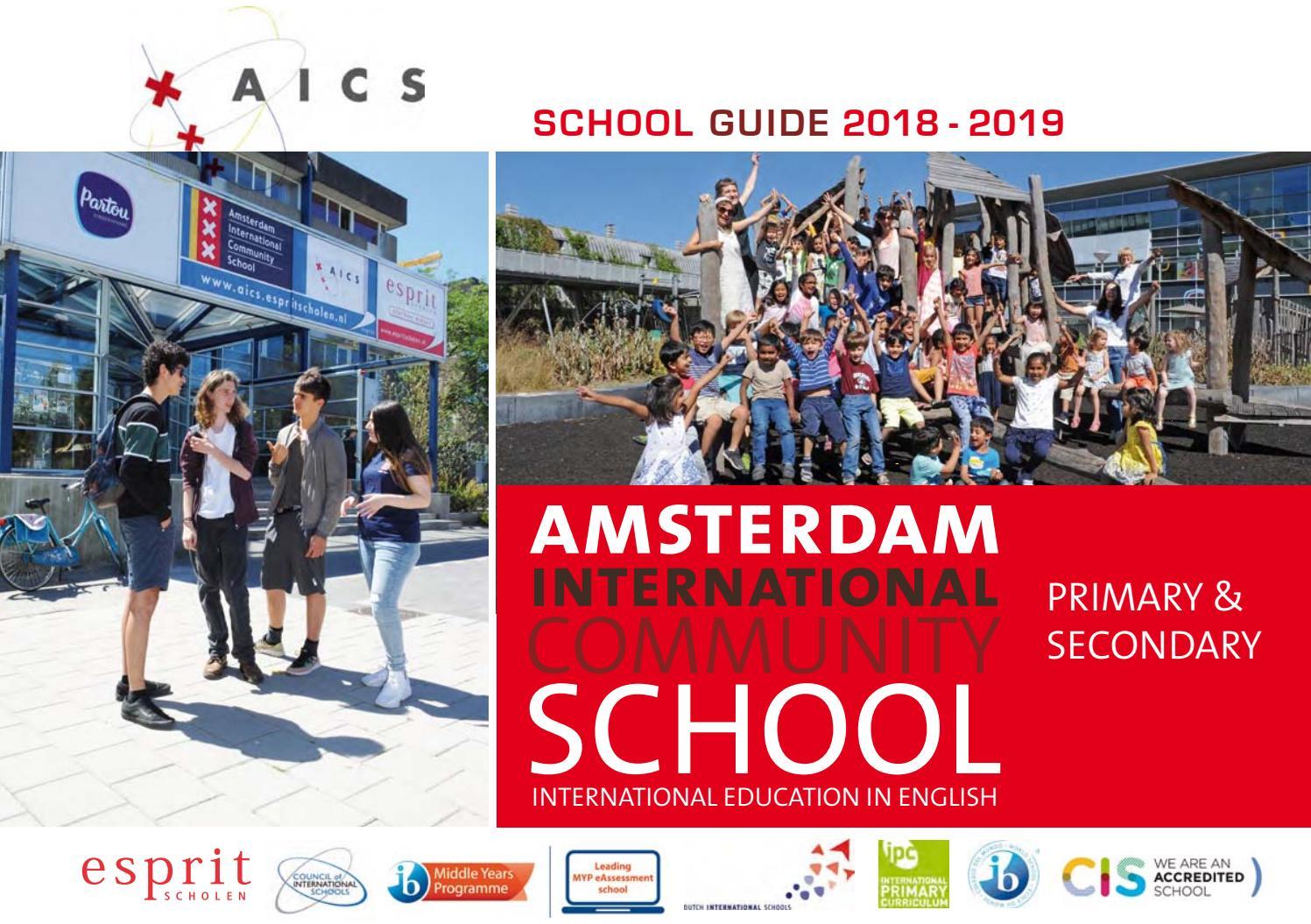 AICS School Guide 2018-2019 by Sandra Broersen - issuu