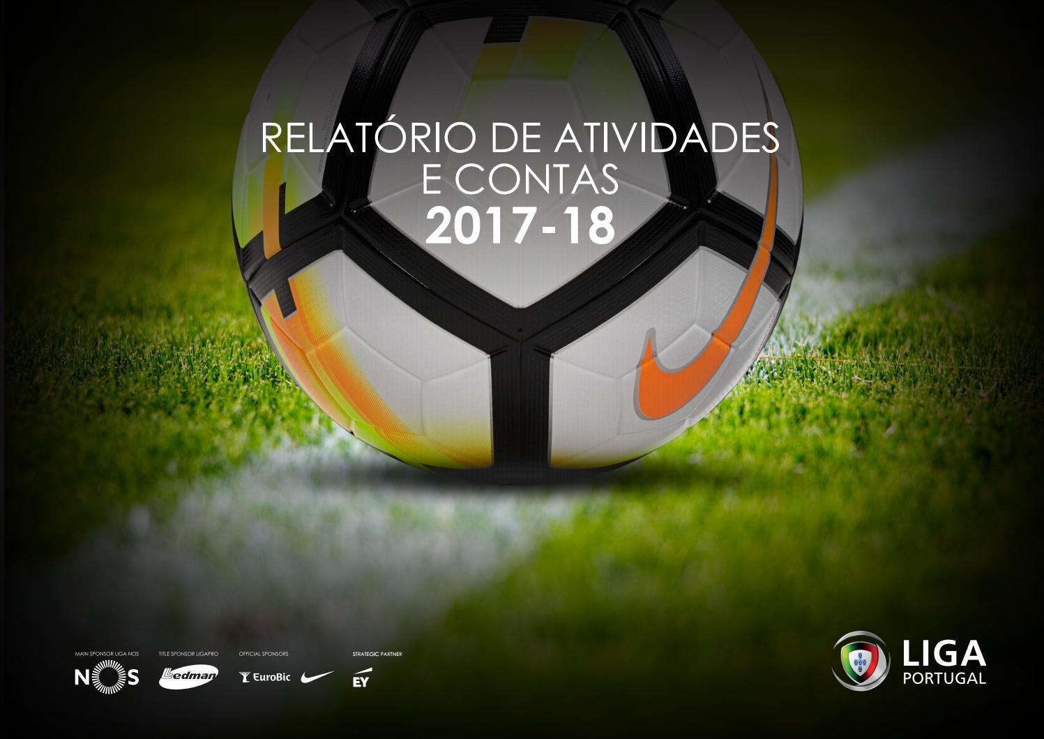 Relatório de Atividades 2017-18 by Liga Portugal - issuu 33c4c78bd8e35