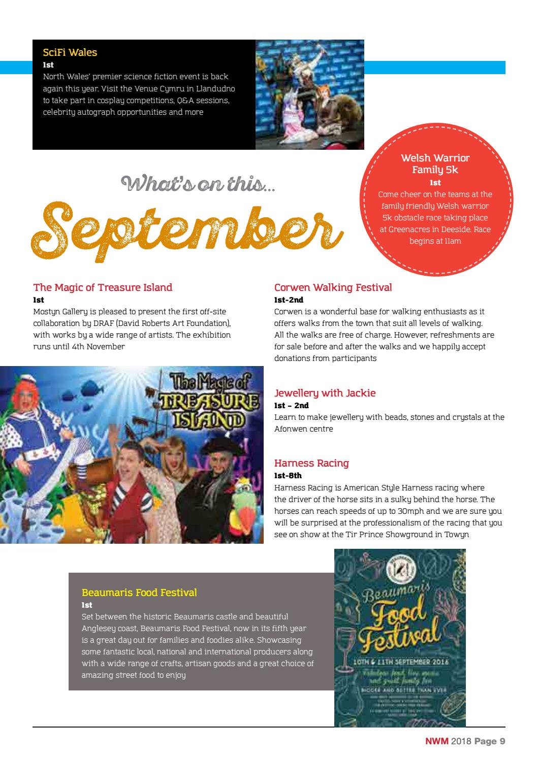 NWM September 2018 by North Wales Magazine - issuu