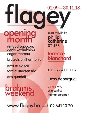 Flagey Quarterly Brochure Sep-Oct-Nov 2018 by Flagey - issuu a126548b9ce