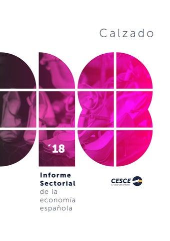 765f9270 Informe Sectorial CESCE 2018 Calzado by CESCE - issuu