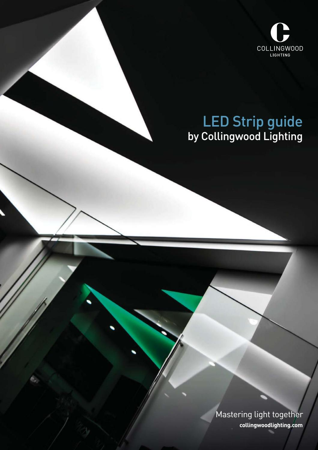 Fabulous Led Strip Guide By Collingwood Lighting Issuu Wiring Digital Resources Remcakbiperorg