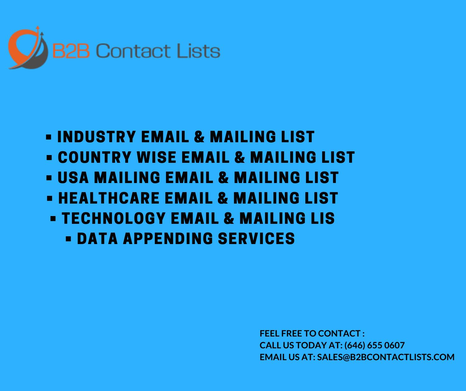 CBO email lists | Free CBO Mailing Address Database | CBO