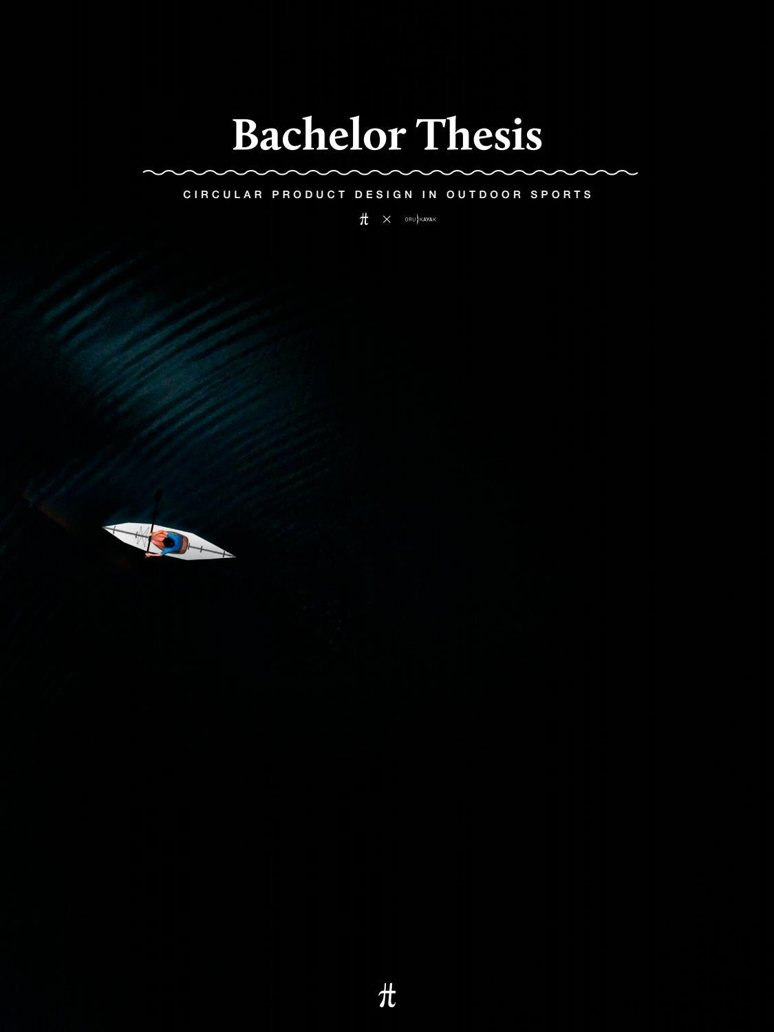 Bachelor Thesis II - Circular Product Design in Outdoor Sports by ...