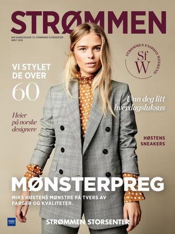 fdcd0ed2 Strømmen Fashion Weekend-magasinet 2018 by Strømmen Storsenter - issuu