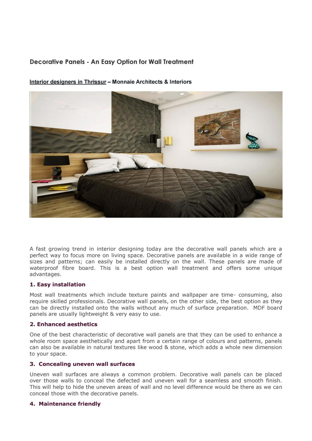 Interior Designers In Thrissur Monnaie Architects Interiors By Monnaie Offpage Issuu