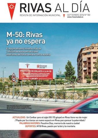 eee8a9f58d2 Rivas al día   Rivas cultural Nº 180