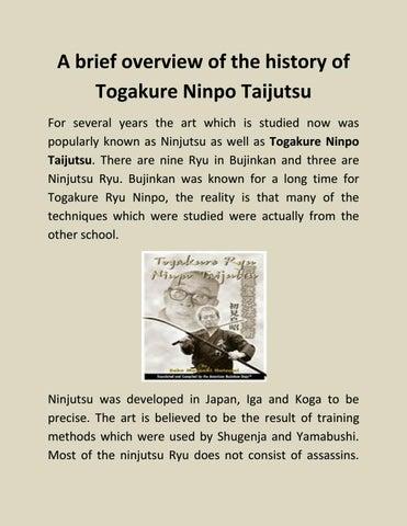 Ninpo Taijutsu Ebook Download