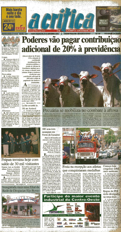 2aaac49f7b4cc Jornal A Critica - Edição 1002- 05 11 2000 by JORNAL A CRITICA - issuu