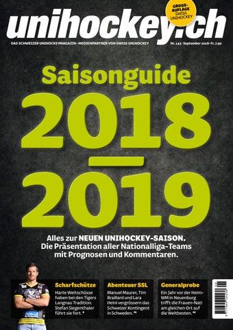 Season Guide 201819 By Swiss Unihockey Issuu