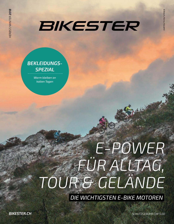 BIKESTER MAGAZIN HerbstWinter 2018 by bikester.ch issuu