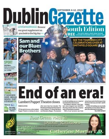 Dublin Gazette South Edition By Dublin Gazette Issuu