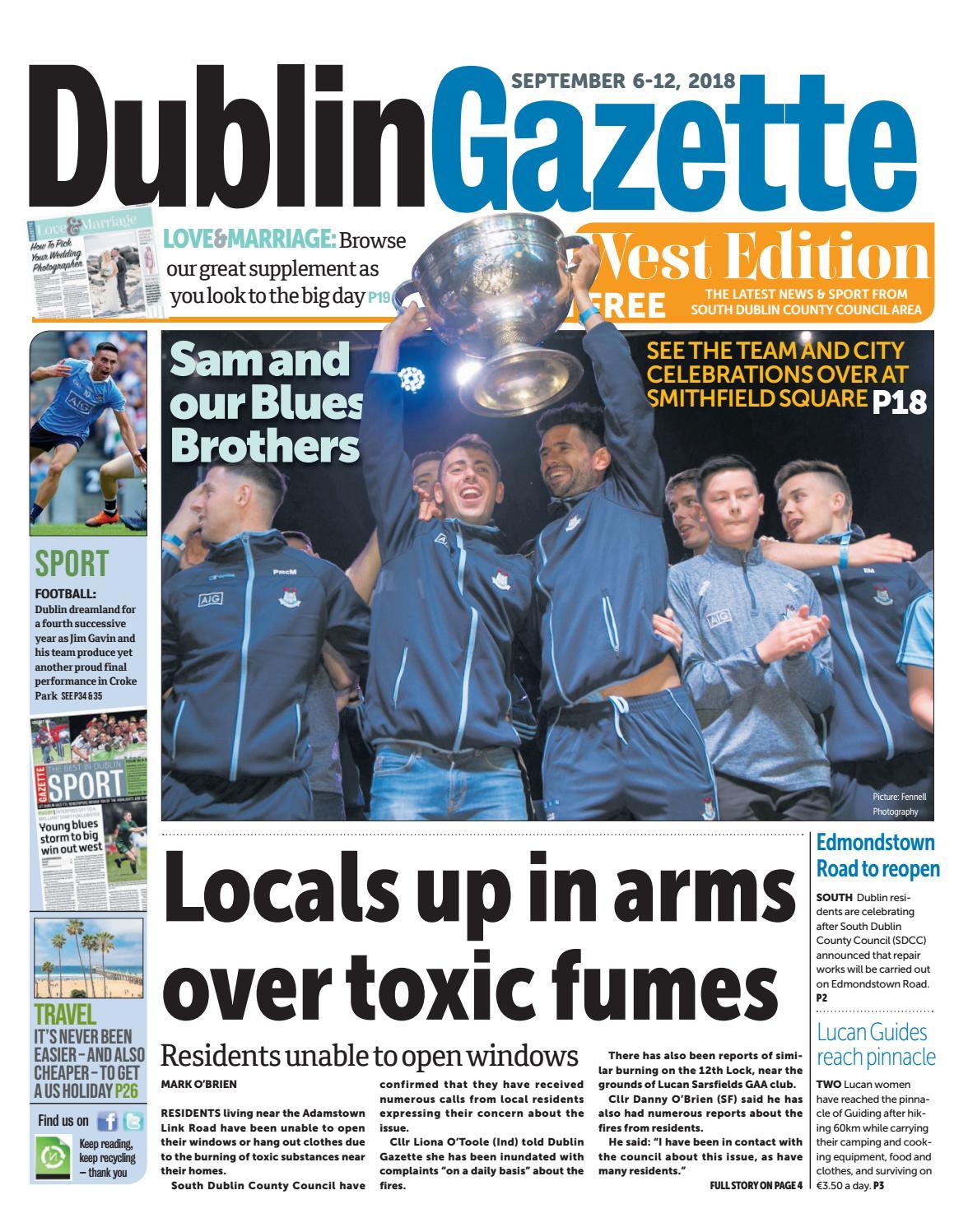 Dublin Gazette: West Edition by Dublin Gazette - issuu