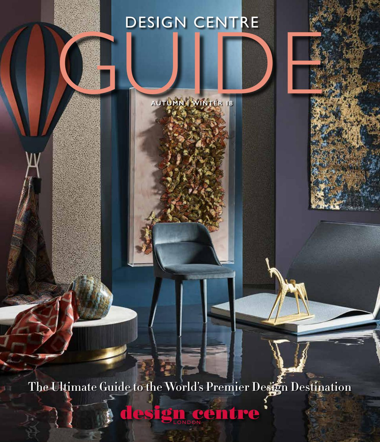 Aw18 Design Centre Guide By Design Centre Chelsea Harbour